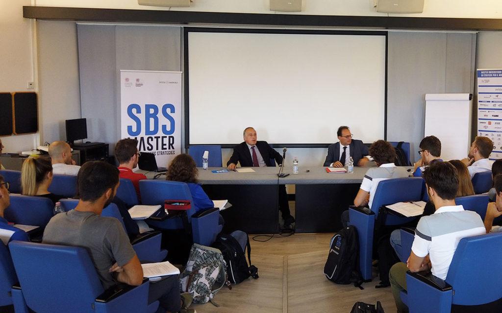 Giancarlo Abete al Master SBS