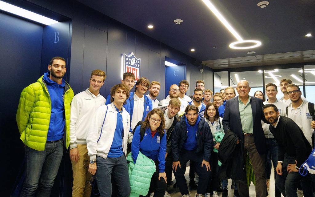 Gli Studenti del Master a Londra negli uffici NFL