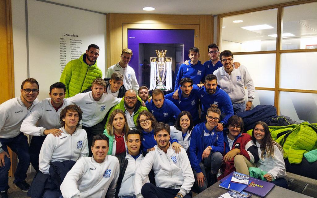 Gli Studenti della XV edizione con la Premier League