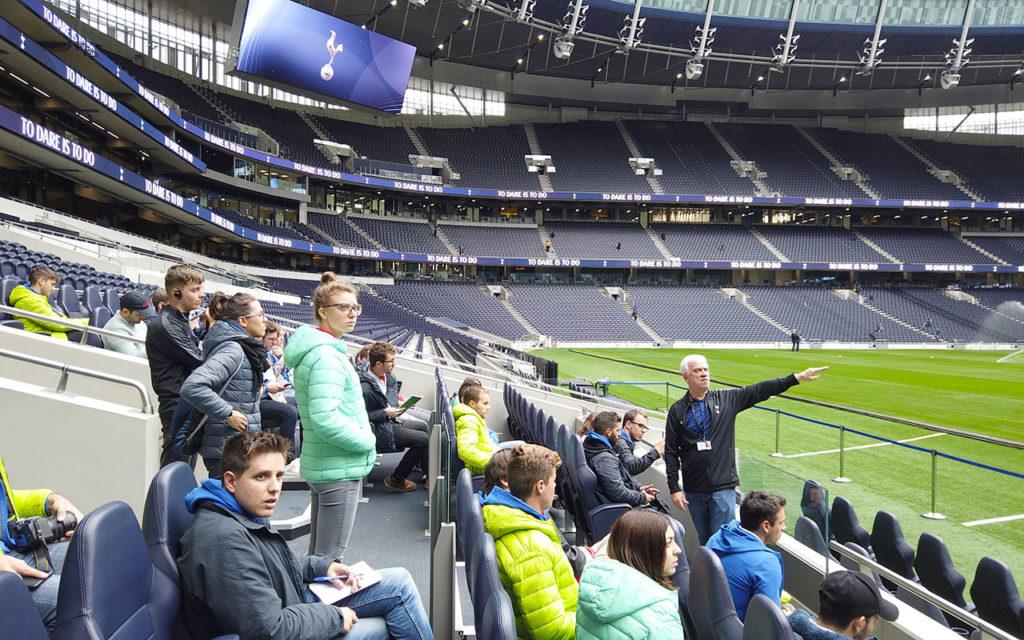 Visita al Tottenham Hotspur Stadium